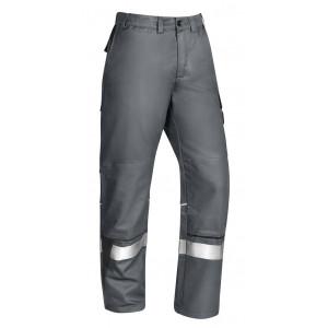 Multinorm-Bundhose, TOP LINE SAFETY Bodyguard Plus 275R, Köper, ca. 275 g/m², REFLECTOR
