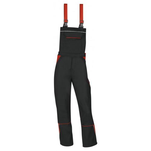Latzhose mit Stretcheinsatz, JOSTEN TOP LINE, verstärkte Baumwolle, ca. 300 g/m²